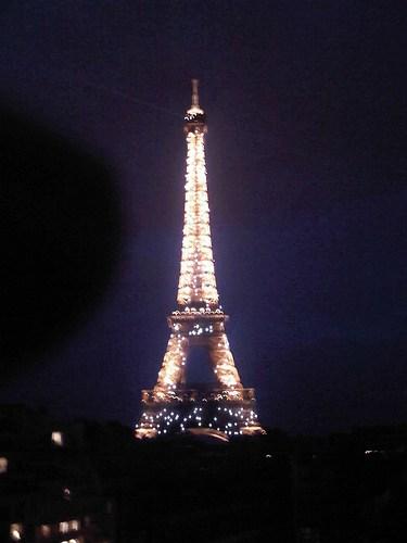 Foto 2 - Torre Eiffel - foto tirada do Les Ombres