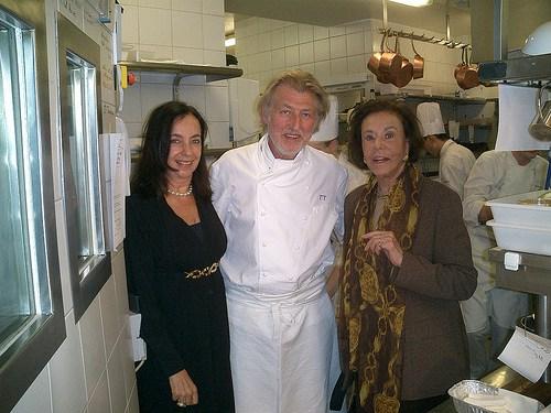 Foto 3 - Pierre Gagnaire em seu restaurante