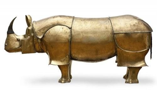 Foto 7 - Escultura Rinoceronte - Lalanne