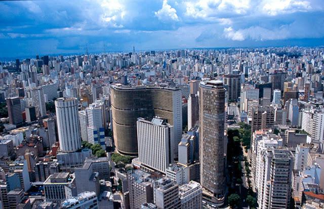Foto 1 - Vista de SP - centro
