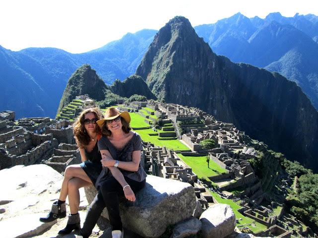 Foto 19 - Cristina e Kika em Machu Picchu