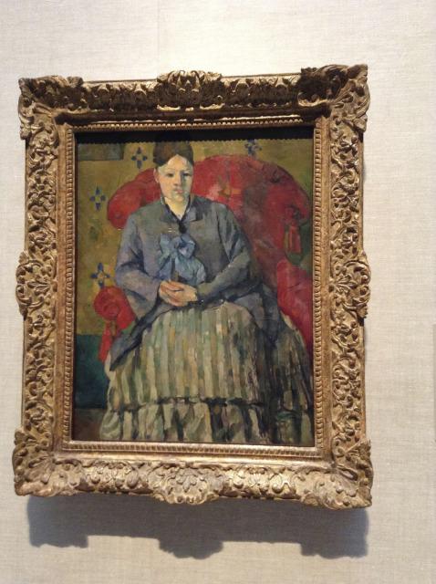 Foto 5 - Exposição Mme. Cézanne - MET