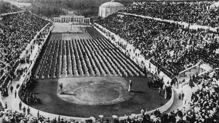 Foto 9a - estádio Panathenaic em Atenas