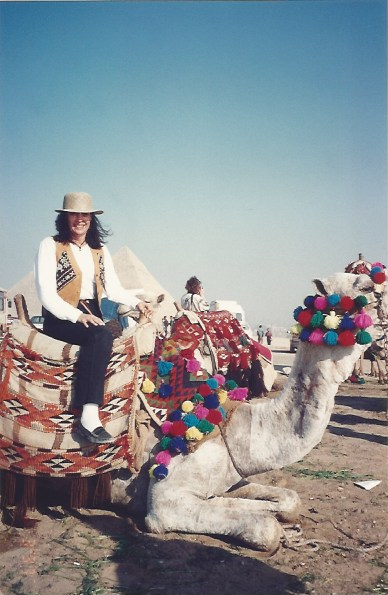 Foto 5 - Passeio de camelo.Egito 11