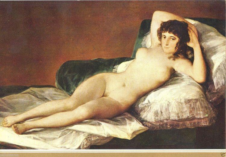 Foto 5 - La Maja Desnuda - Goya -l1600