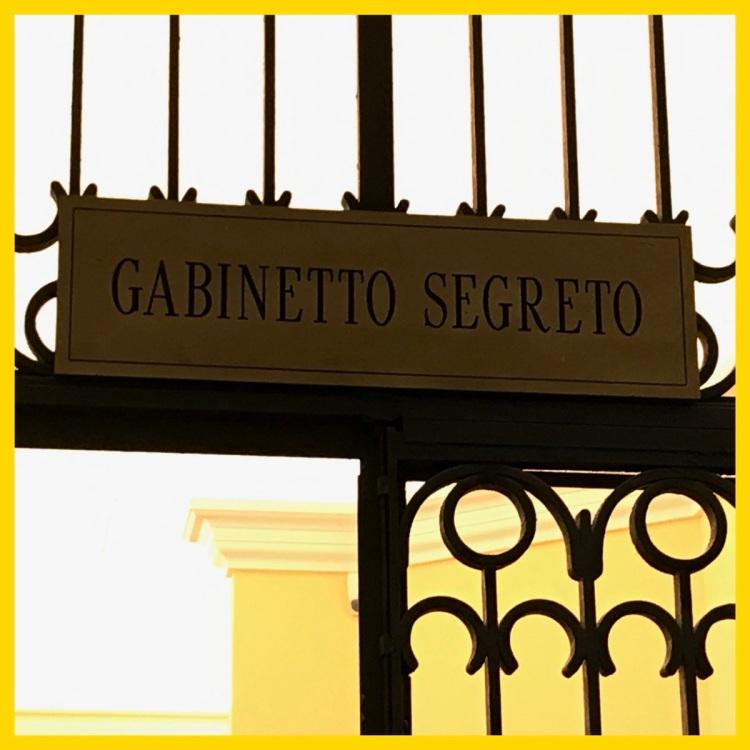 Foto 10 - Gabinetto Segreto