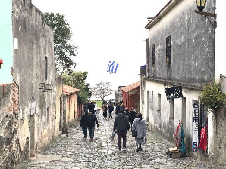 Foto 17- Rua do Centro Histórico de Colônia